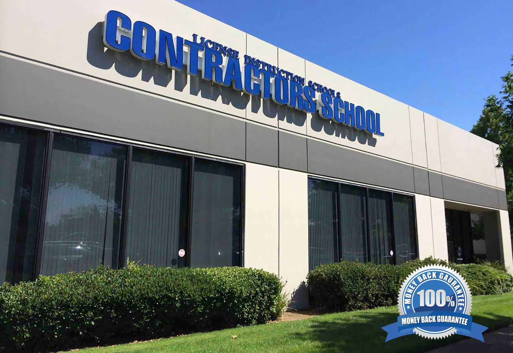 Contractors License Schools Building